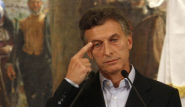 Macri announced that the Government has raised a spot showing Darthés