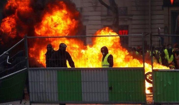 Macron spoke in Buenos Aires over the violent disturbances in Paris