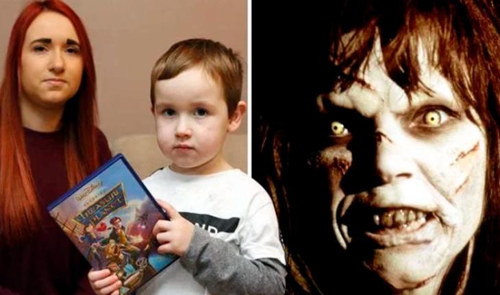 """Madre le compra a su hijo el """"Planeta del Tesoro"""" y resulta ser """"El Exorcista"""""""
