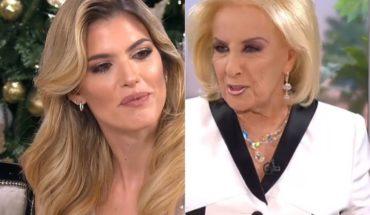 Mirtha Legrand criticized Mery del Cerro for the tribute that made him