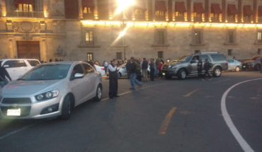 Morena legislators are parked instead banned Front National Palace