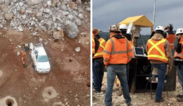 Mueren 2 mineros en Sonora; rescatan sus cuerpos del deslave