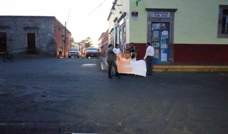Mujer muere al ser atropellada en el Centro Histórico de Morelia