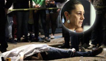 """""""Nos entregaron una Ciudad violenta"""", Claudia Sheinbaum"""