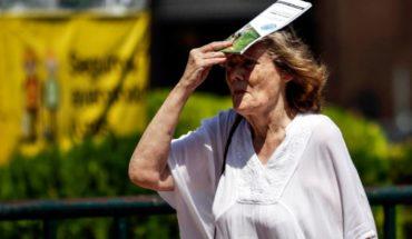 Ola de calor en el país con temperaturas que superaron los 40°C