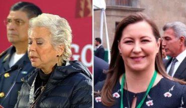Olga Sánchez se reunió con Martha Érika Alonso antes de morir