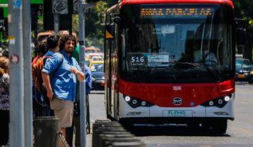 Partió el recorrido más extenso de los buses eléctricos en Transantiago