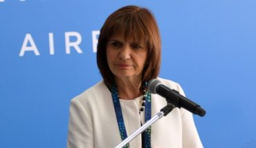 Patricia Bullrich pointed out how many detainees left the March against the G20