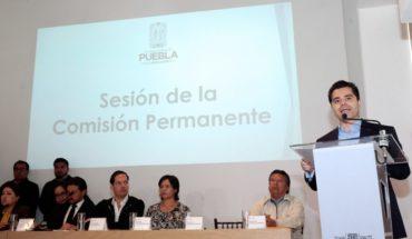 Prevén nombrar a gobernador interino de Puebla entre el 2 y 3 de enero