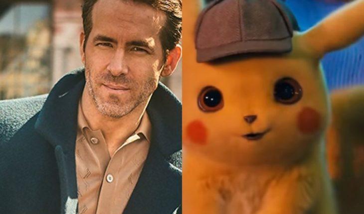Ryan Reynolds publicó su primera foto como Pikachu y entusiasmó a sus fans