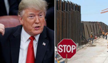 Sólo un buen muro evitará que drogas lleguen a EU: Trump