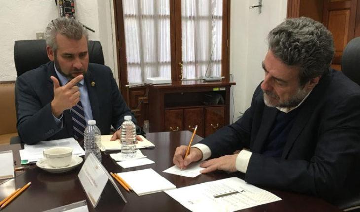 SEP respalda que la UMSNH sea reconocida como universidad nacional: Alfredo Ramírez