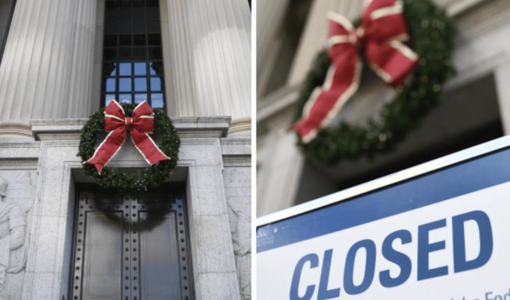 Seguirá el cierre parcial del gobierno de EEUU en Navidad