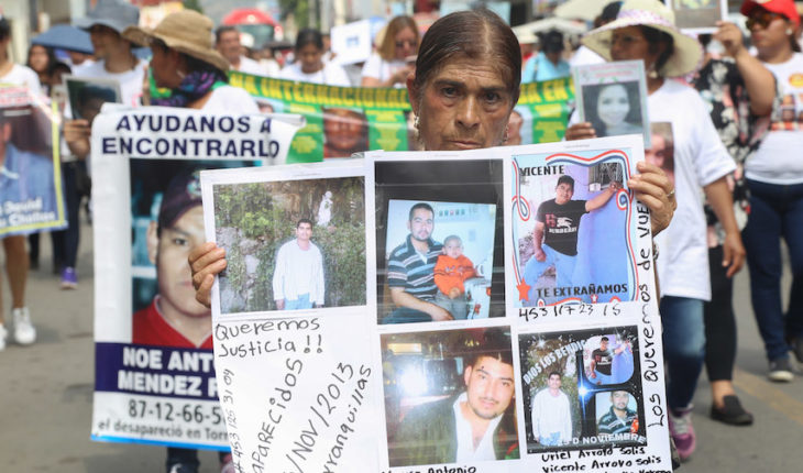 Stories of the Caravan for the missing in Michoacan