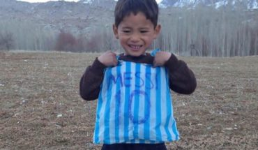 The Afghan boy who knew Messi must flee their country and left their gifts
