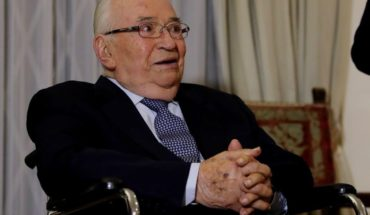 The former Colombian President Belisario Betancur died