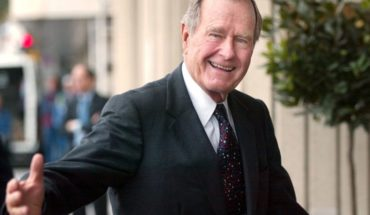 The former President of United States George H.W. Bush died at age 94