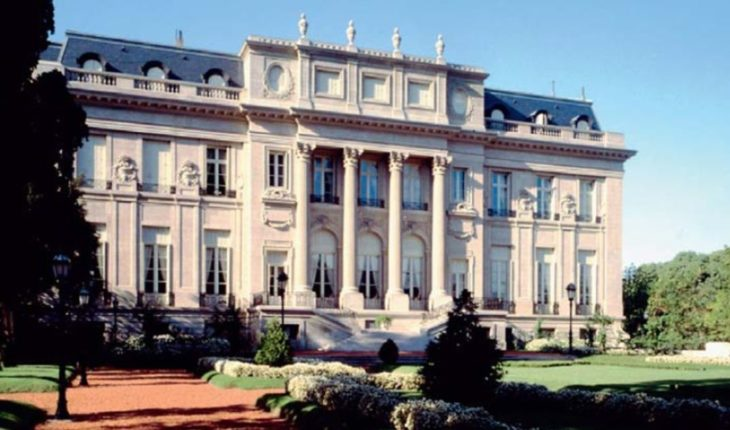 The residence of the Ambassador of the United States, a national historic monument