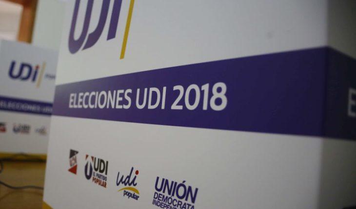 UDI realizará elecciones internas con lápiz y papel, este domingo