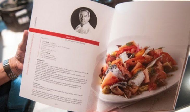 Un libro recopila recetas saludables de reconocidos chefs contra el cáncer