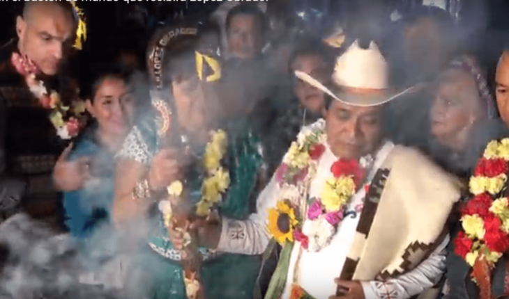 VIDEO: Bless the baton that will receive AMLO