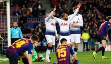 Vidal was substitute in the draw in Barcelona to Tottenham