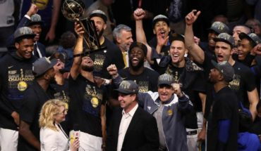 Warriors named athlete of the year by Sports Illustrated