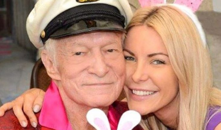 Widow revealed details of her intimate life with Hugh Hefner