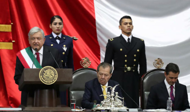 With announcement of not persecution of past officials, Andrés Manuel López Obrador, protest as new President of Mexico
