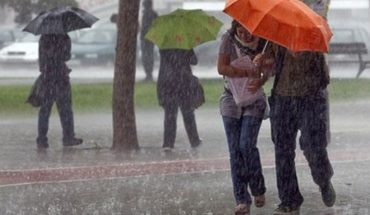 Wrap up! expected intense storms in the country and very cold