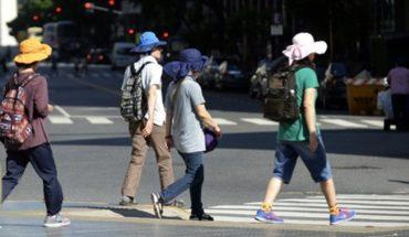 Alerta naranja en Buenos Aires: la térmica llegó a 43.4°
