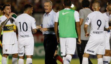 Alfaro prepara cambios en Boca y Carlos Tevez no será titular