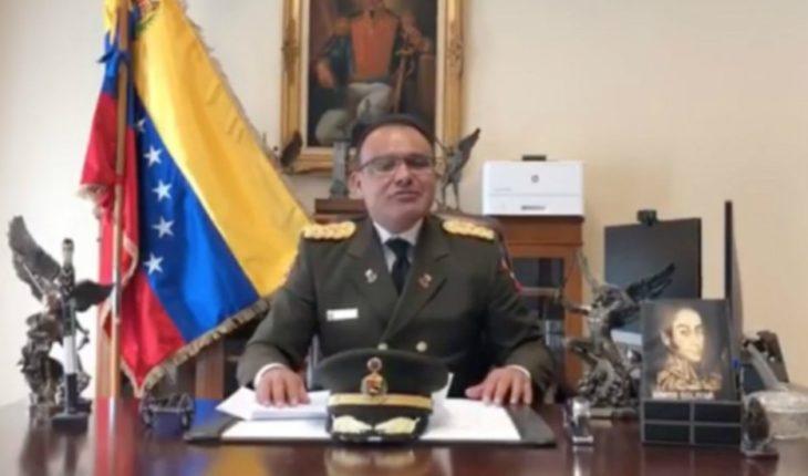 Alto militar venezolano desconoce a Maduro como presidente de su nación