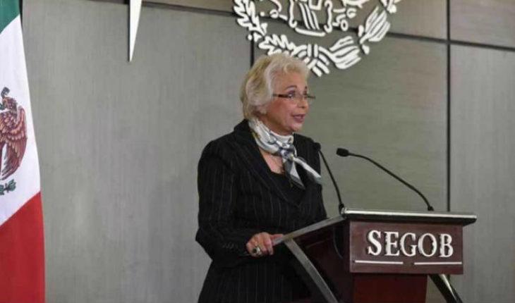 Anuncia secretaria de gobernación, trabajo a migrantes de la caravana centroamericana