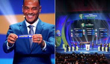 Así quedaron los grupos de la Copa América Brasil 2019