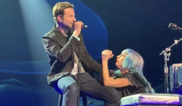 Bradley Cooper aparece por sorpresa en show de Lady Gaga en Las Vegas