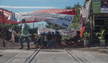 CNTE acuerda liberar vías del tren, pero mantiene paro en Michoacán