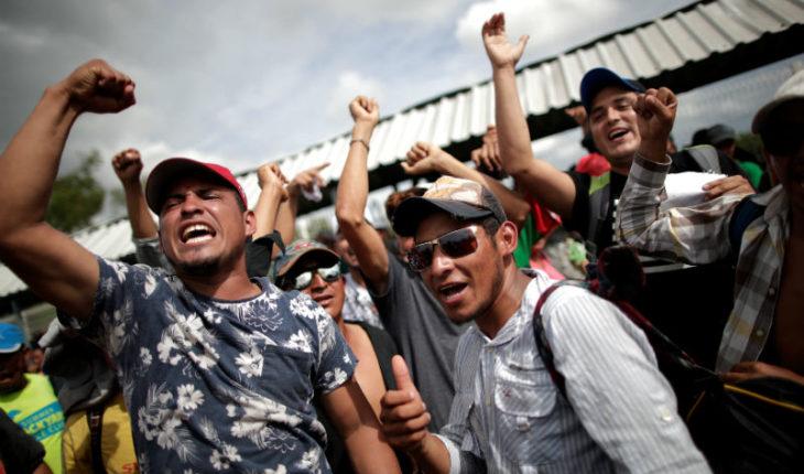 Caravana migrante, visibilidad para centroamericanos en tránsito por México