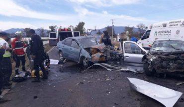 Choque deja 3 muertos y 5 heridos en la rúa Tangancícuaro-Chilchota