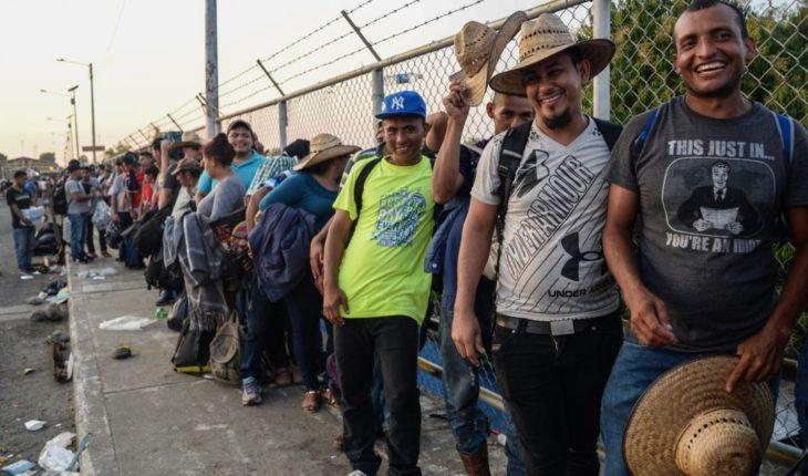 Con o sin permiso, 3 mil migrantes hondureños cruzarán a México