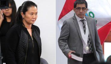 Desaparece hija de juez que envió a prisión a Keiko Fujimori