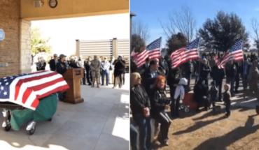 Desconocidos asisten a funeral de un hombre que murió sin familia
