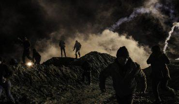EEUU lanza gas lacrimógeno para detener a migrantes