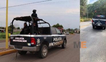 En Uruapan detienen a cuatro hombres armados luego de una persecución y tiroteo