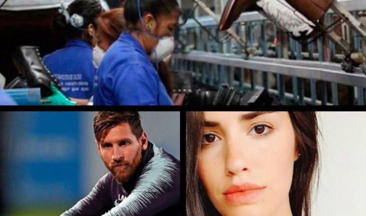 Fuerte caída de la economía, Messi pidió por Sala, última fase del rescate de Julen, Lali enojada y mucho más...