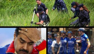 Hallan cuerpo que podría ser de la odontóloga, EEUU sanciona a Venezuela, denuncian a ciclista por abuso y más...