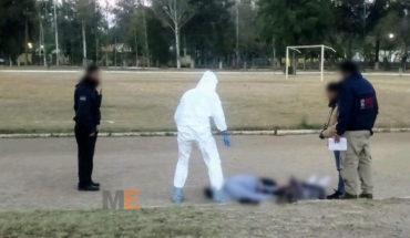 Hombre muere de un infarto en la Unidad Deportiva Morelos Indeco de Morelia