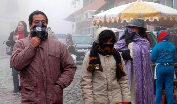 Hoy entrará el frente frío no. 30 al país