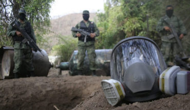 """Más de 22 mdp en """"crystal"""" son decomisados por la 43 Zona Militar en diciembre"""