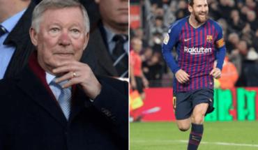 """Messi es mejor que Maradona"": Sir Alex Ferguson"
